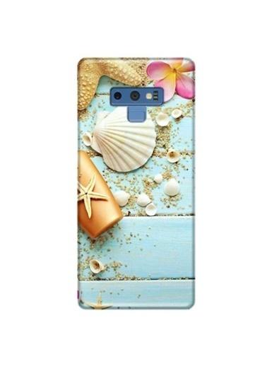People's Cover Galaxy Note 9 Baskılı Telefon Kılıfı Renkli